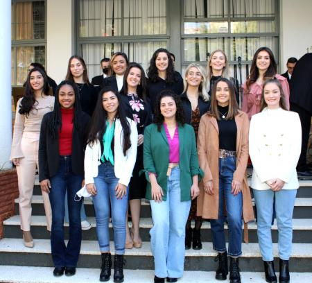 Candidatas também participaram da programação da Semana Italiana